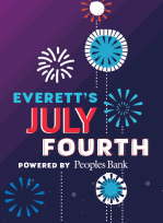 Peoples Bank is thrilled to be this year's title sponsor of Everett's 4th of July Parade & Festival.