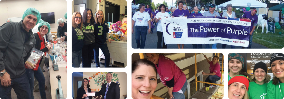 Peoples Bank employess giving back to their communities