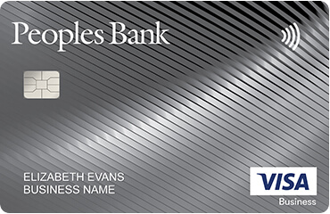 Peoples Bank Business Credit Cards