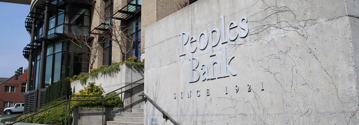 Peoples Bank - Since 1921