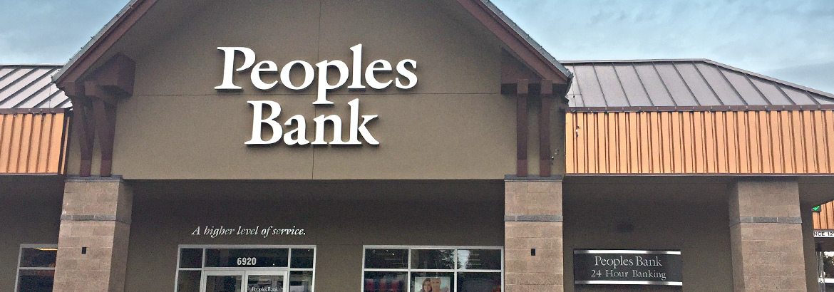 Peoples Bank Evergreen Branch