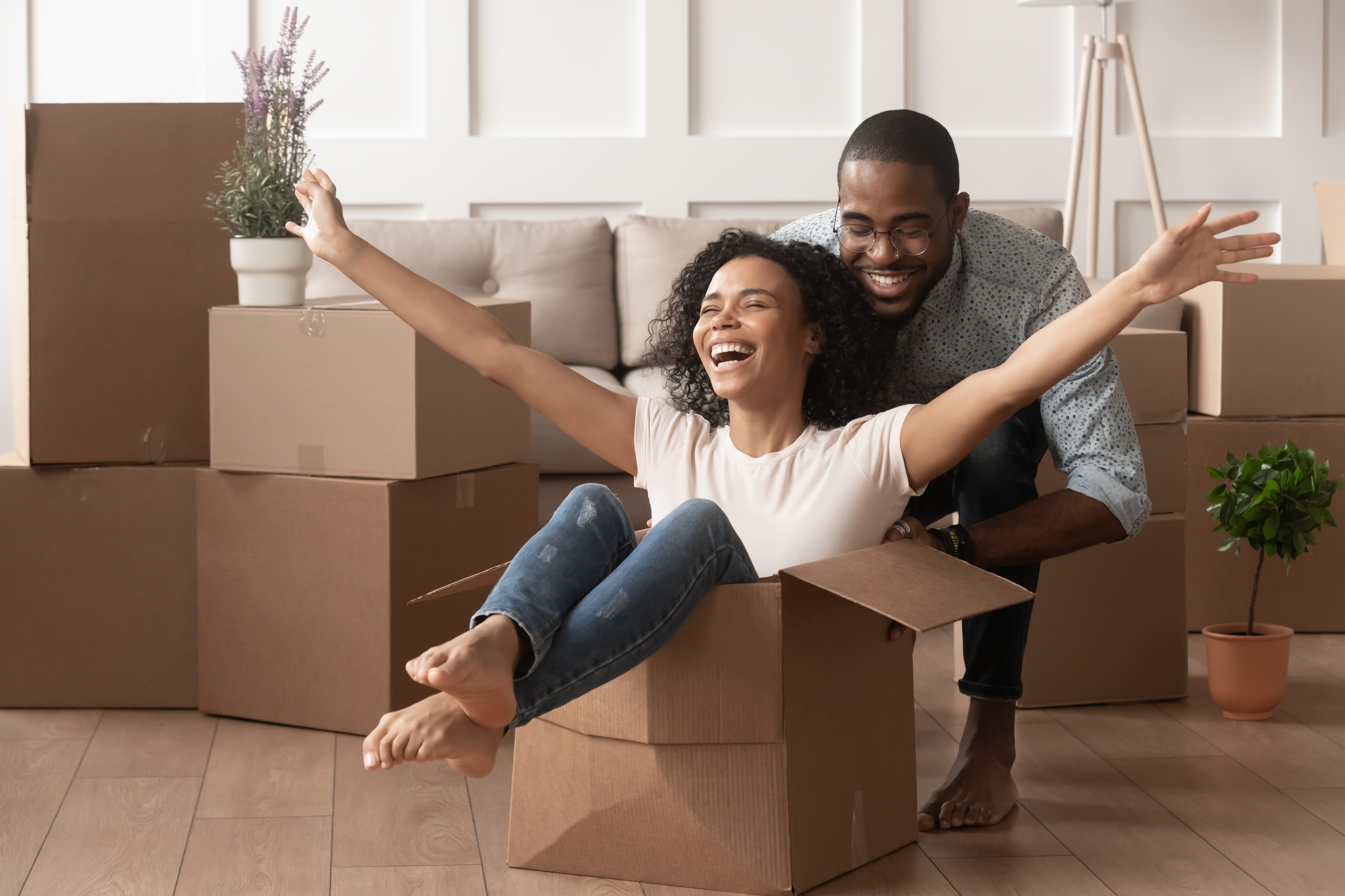 with mortgage rates at less than 4%, real estate brokers say it's a great time to go home shopping.