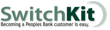 switch peoples bank kit banking there